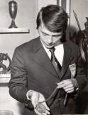 Andrzej Bek - 1972 r. Olimpiada w Monachium, III m. medalista w tandemie na torze, kolarstwo