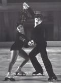 Grażyna Kostrzewińska, Adam Brodecki - 1972 r. Olimpiada w Sapporo XI m., łyżwiarstwo figurowe, para sportowa