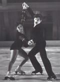 Grażyna Kostrzewińska oraz Adam Brodecki (łyżwiarstwo figurowe - para sportowa
