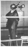 Jacek Moszczyński - czołowy junior sekcji strzelectwa sportowego w latach sześćdziesiątych