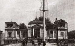 Dom Cyklisty w Parku Helenów, po 1912r.