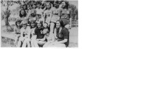 Drużyna siatkówki z 1974 r.