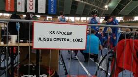Tabliczka wskazująca miejsce boksu zawodników K.S. Społem