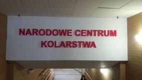 Znak Narodowego Centrum Kolarstwa